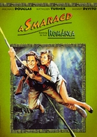 Romancing the Stone - Hungarian DVD cover (xs thumbnail)
