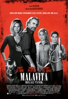 The Family - Turkish Movie Poster (xs thumbnail)