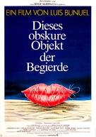Cet obscur objet du désir - German Movie Poster (xs thumbnail)