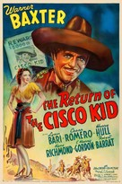 Return of the Cisco Kid - Movie Poster (xs thumbnail)