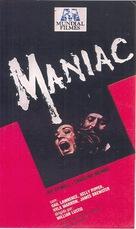 Maniac - Brazilian Movie Cover (xs thumbnail)