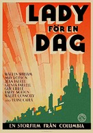 Lady for a Day - Swedish Movie Poster (xs thumbnail)