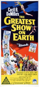 The Greatest Show on Earth - Australian Movie Poster (xs thumbnail)