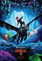 How to Train Your Dragon: The Hidden World - Bosnian Movie Poster (xs thumbnail)