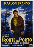 On the Waterfront - Italian Movie Poster (xs thumbnail)
