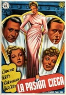 They Drive by Night - Spanish Movie Poster (xs thumbnail)