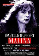 Malina - German Movie Poster (xs thumbnail)
