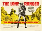 The Lone Ranger and the Lost City of Gold - British Movie Poster (xs thumbnail)