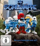 The Smurfs - German Blu-Ray cover (xs thumbnail)