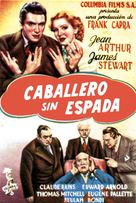 Mr. Smith Goes to Washington - Spanish Movie Poster (xs thumbnail)