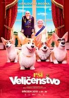The Queen's Corgi - Czech Movie Poster (xs thumbnail)