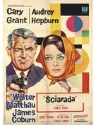 Charade - Italian Movie Poster (xs thumbnail)