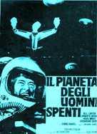 Il pianeta degli uomini spenti - Italian Movie Poster (xs thumbnail)