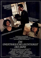 The Unbearable Lightness of Being - German Movie Poster (xs thumbnail)