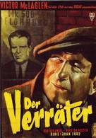 The Informer - German Movie Poster (xs thumbnail)