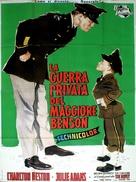 The Private War of Major Benson - Italian Movie Poster (xs thumbnail)