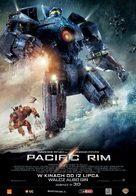 Pacific Rim - Polish Movie Poster (xs thumbnail)