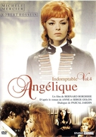 Indomptable Angèlique - French DVD movie cover (xs thumbnail)