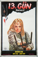 Friday the 13th - Turkish Movie Poster (xs thumbnail)