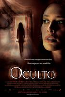 Oculto - Mexican Movie Poster (xs thumbnail)