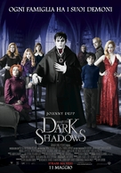 Dark Shadows - Italian Movie Poster (xs thumbnail)
