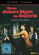 Cet obscur objet du désir - German DVD cover (xs thumbnail)