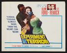 Experiment in Terror - Movie Poster (xs thumbnail)