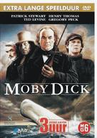Moby Dick - Dutch DVD cover (xs thumbnail)