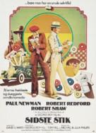 The Sting - Danish Movie Poster (xs thumbnail)