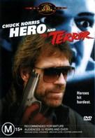 Hero And The Terror - Australian DVD movie cover (xs thumbnail)
