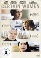 Certain Women - German DVD cover (xs thumbnail)
