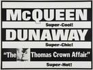 The Thomas Crown Affair - British Movie Poster (xs thumbnail)