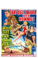 From Here to Eternity - Belgian Movie Poster (xs thumbnail)