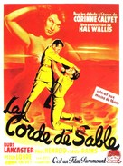 Rope of Sand - French Movie Poster (xs thumbnail)