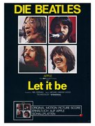 Let It Be - German Movie Poster (xs thumbnail)