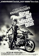 Knightriders - German Movie Poster (xs thumbnail)
