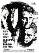 The Spy Who Came in from the Cold - Spanish Movie Poster (xs thumbnail)
