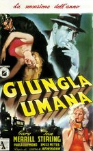 The Human Jungle - Italian Movie Poster (xs thumbnail)