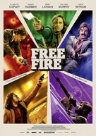 Free Fire - German Movie Poster (xs thumbnail)
