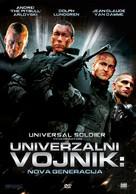 Universal Soldier: Regeneration - Croatian DVD movie cover (xs thumbnail)