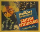 British Intelligence - Movie Poster (xs thumbnail)