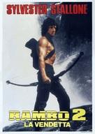 Rambo: First Blood Part II - Italian Movie Poster (xs thumbnail)