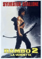 Rambo: First Blood Part II - Italian Movie Poster (xs thumbnail)