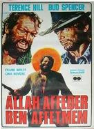 Dio perdona... Io no! - Turkish Movie Poster (xs thumbnail)