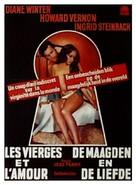 Jungfrauen-Report - Belgian DVD cover (xs thumbnail)