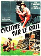 Roar of the Iron Horse, Rail-Blazer of the Apache Trail - French Movie Poster (xs thumbnail)