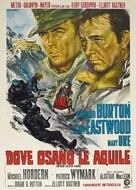 Where Eagles Dare - Italian Movie Poster (xs thumbnail)