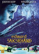 Edward Scissorhands - Danish DVD cover (xs thumbnail)
