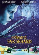 Edward Scissorhands - Danish DVD movie cover (xs thumbnail)