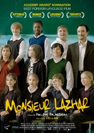 Monsieur Lazhar - Dutch Movie Poster (xs thumbnail)